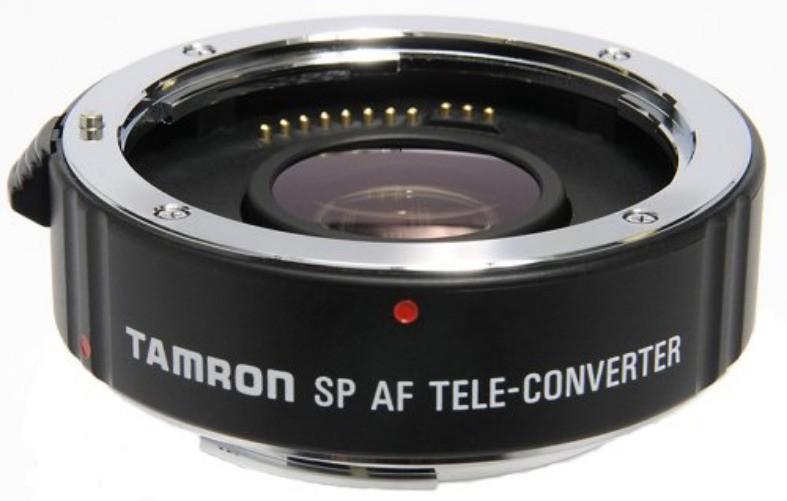 Tamron Teleconverters: SP AF 1.4x Pro Canon $89, Nikon $109, SP AF 2x Pro Canon $129, Nikon $144 after Slickdeals Rebate + free s/h
