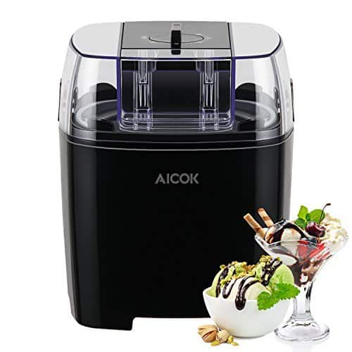 Aicok 1.5 Quart Automatic Ice Cream / Frozen Yogurt Maker $27 + free shipping