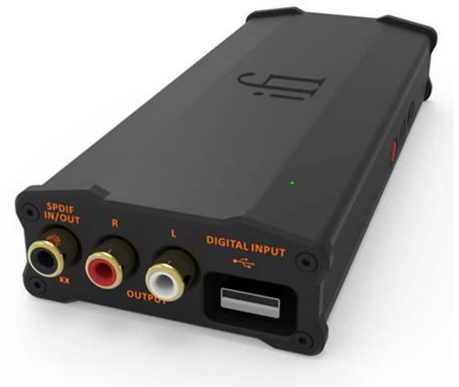 This is a graphic of Universal Ifi Micro Idsd Black Label Specs