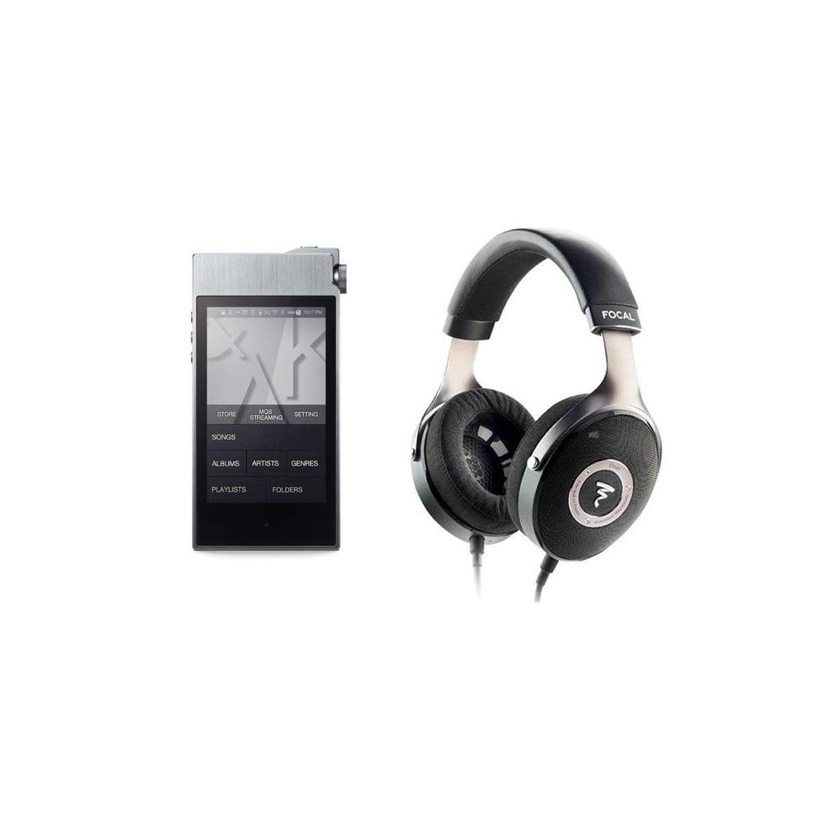 Focal Elear Headphones + Astell&Kern AK100 II Player $1150 or  Focal Utopia Headphones + iFi Pro iCan Amp +  AK100 II Player $4000 + free shipping