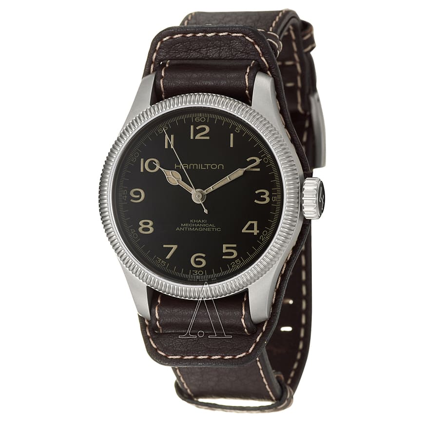 Hamilton Men's Khaki Field Pioneer Manual Wind Watch $369 + free shipping