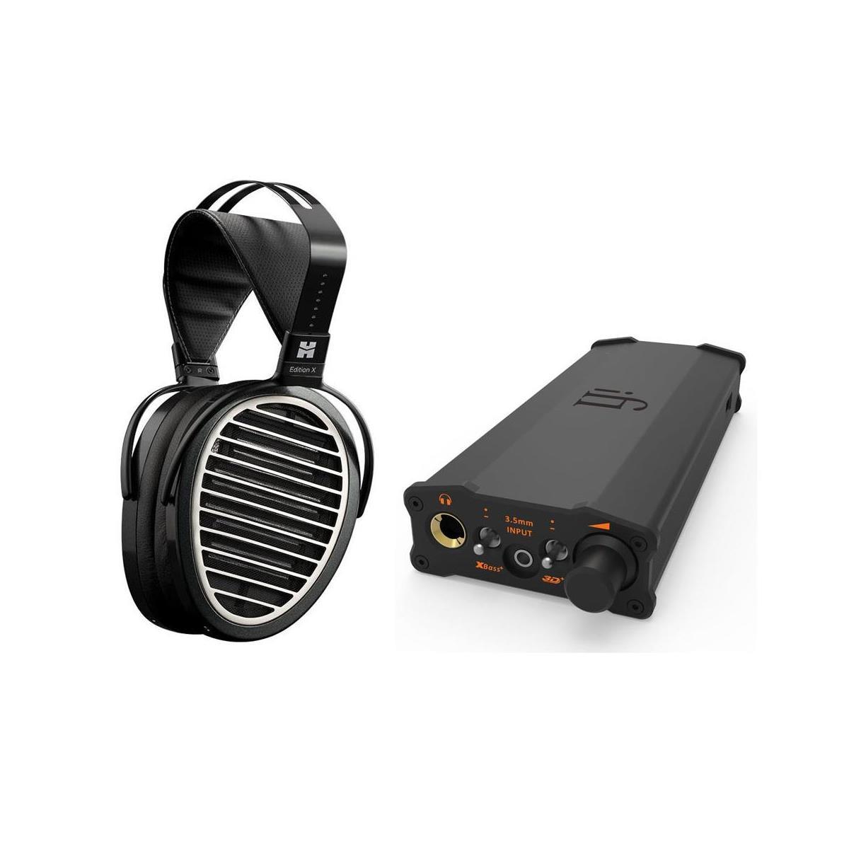 HiFiMan Edition X V2 Planar Magnetic Headphones + iFi Micro iDSD Portable Amp / Dac $1300 + free shipping