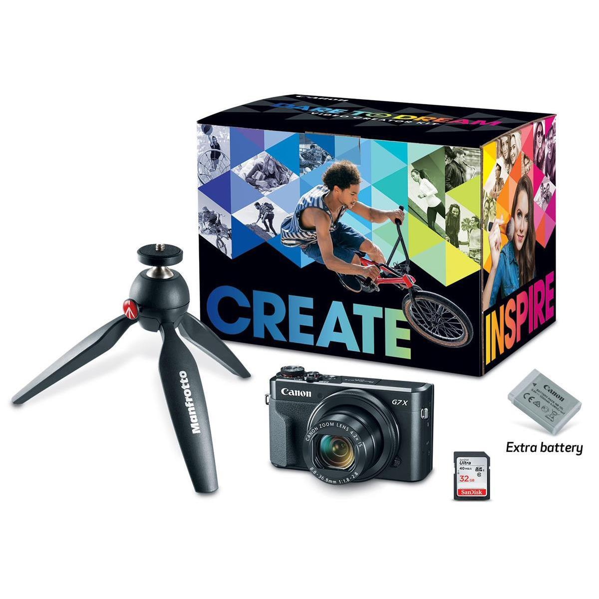 Canon G7 X Mark II Camera + 1TB Canon Connect Station CS100 + Pro-100 Printer & More $729 after $350 rebate + free s.h