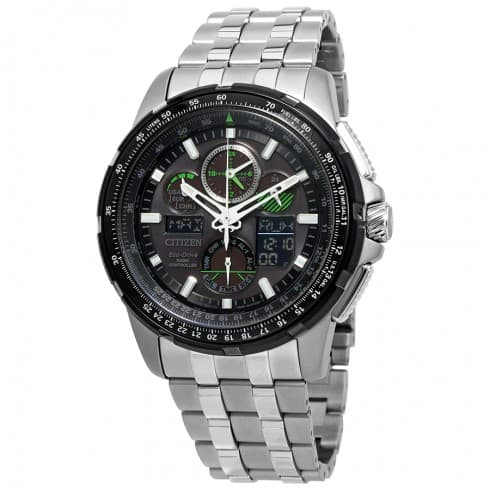 Citizen JY8051-59E Skyhawk A-T Eco-Drive  Watch  w/ Stainless Steel Bracelet $340 + free shipping