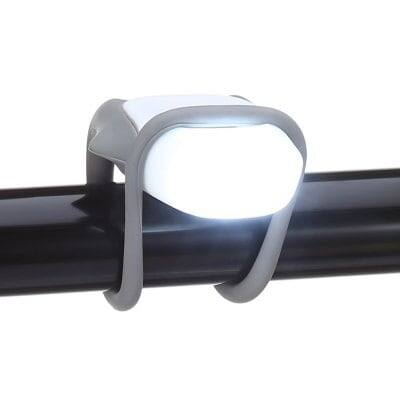 Water-resistant Silicone Bicycle LED Light $0.99 + free shipping