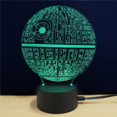 Star Wars Death Star Table Lamp $6 + free shipping
