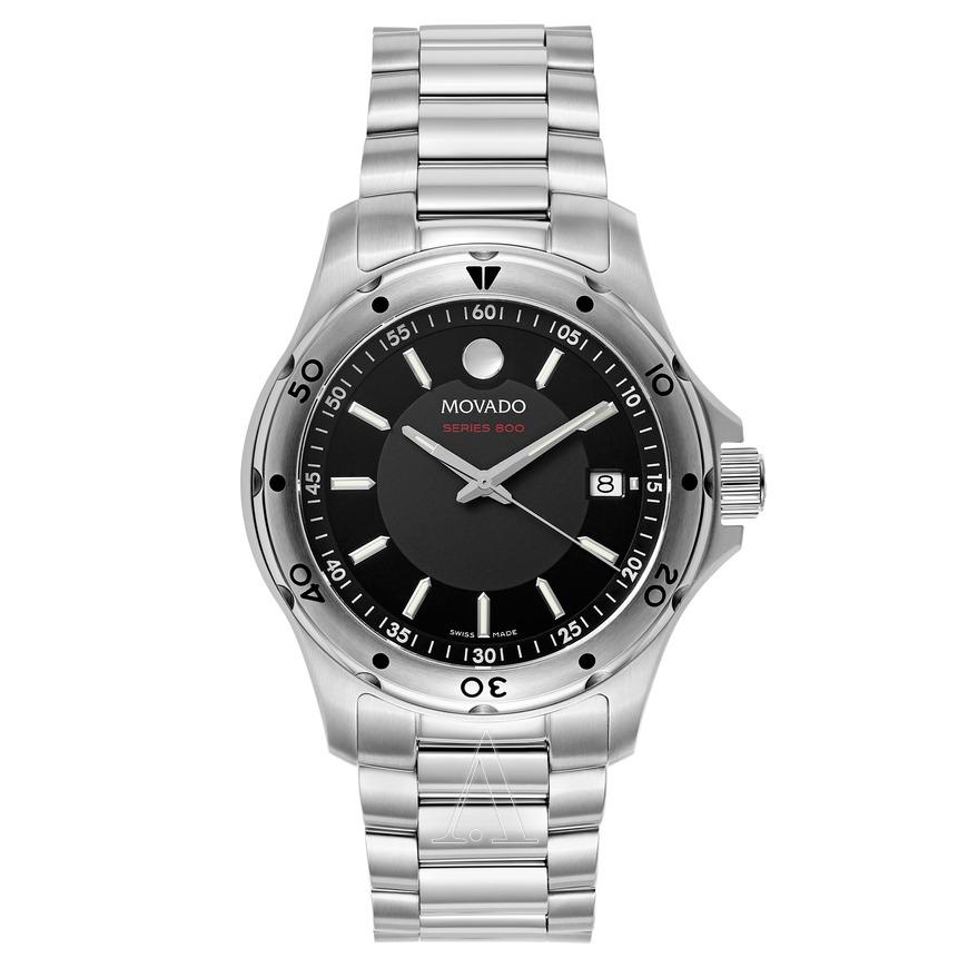 Movado Men's Series 800 Watch w/ SS Bracelet $299 + free shipping