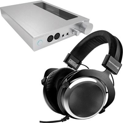 Sennheiser HDVA 600 Headphone Amp + Beyerdynamic DT-880 600 Ohm Headphones  $799 + Free Shipping