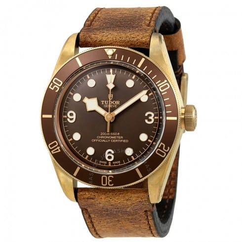 """Tudor """"Bronze Bay"""" Heritage Automatic Bronze Dial Men's Watch $3145 + free shipping"""