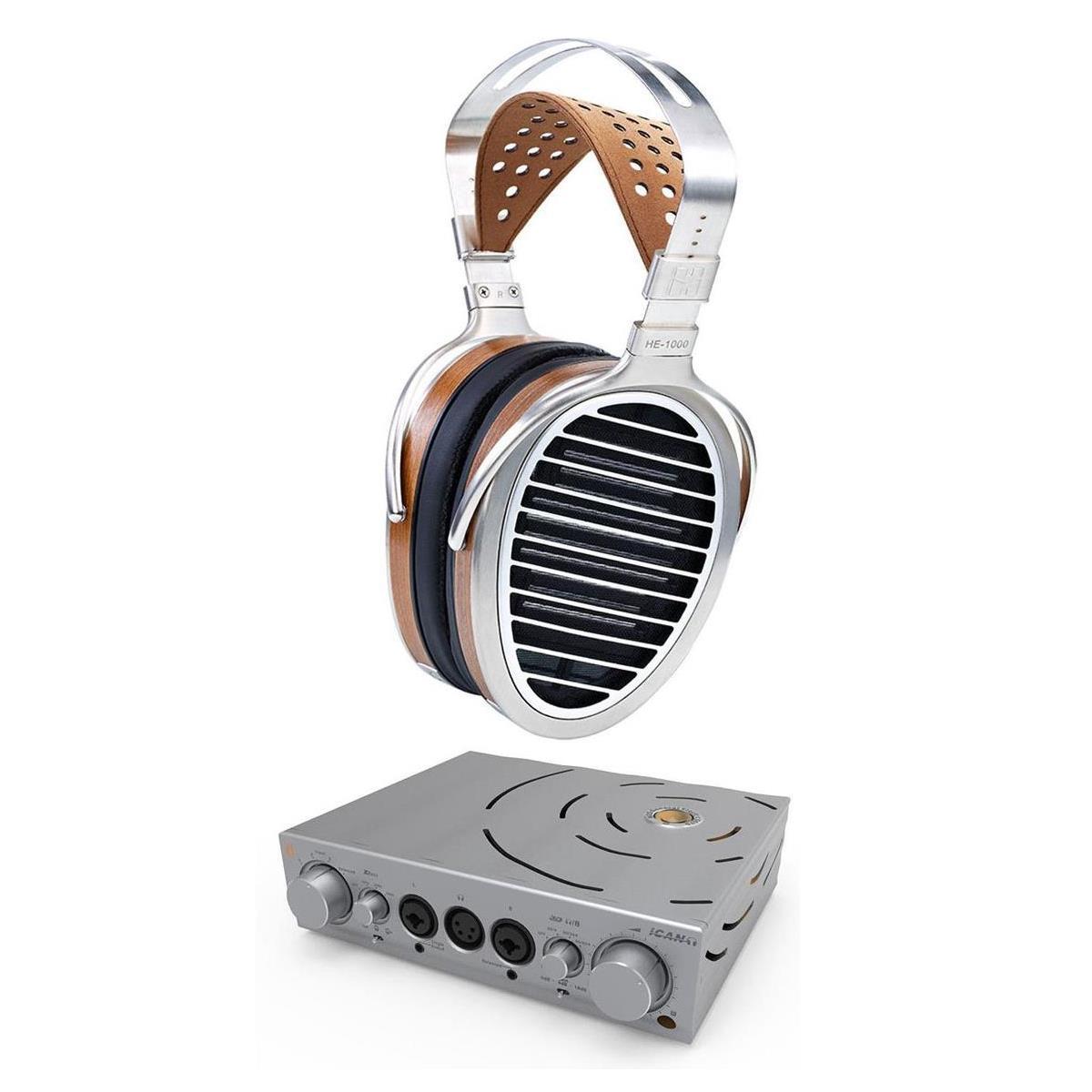 HiFiMan HE1000 V2 Headphones + iFi Pro iCAN Amplifier $3000 + free shipping