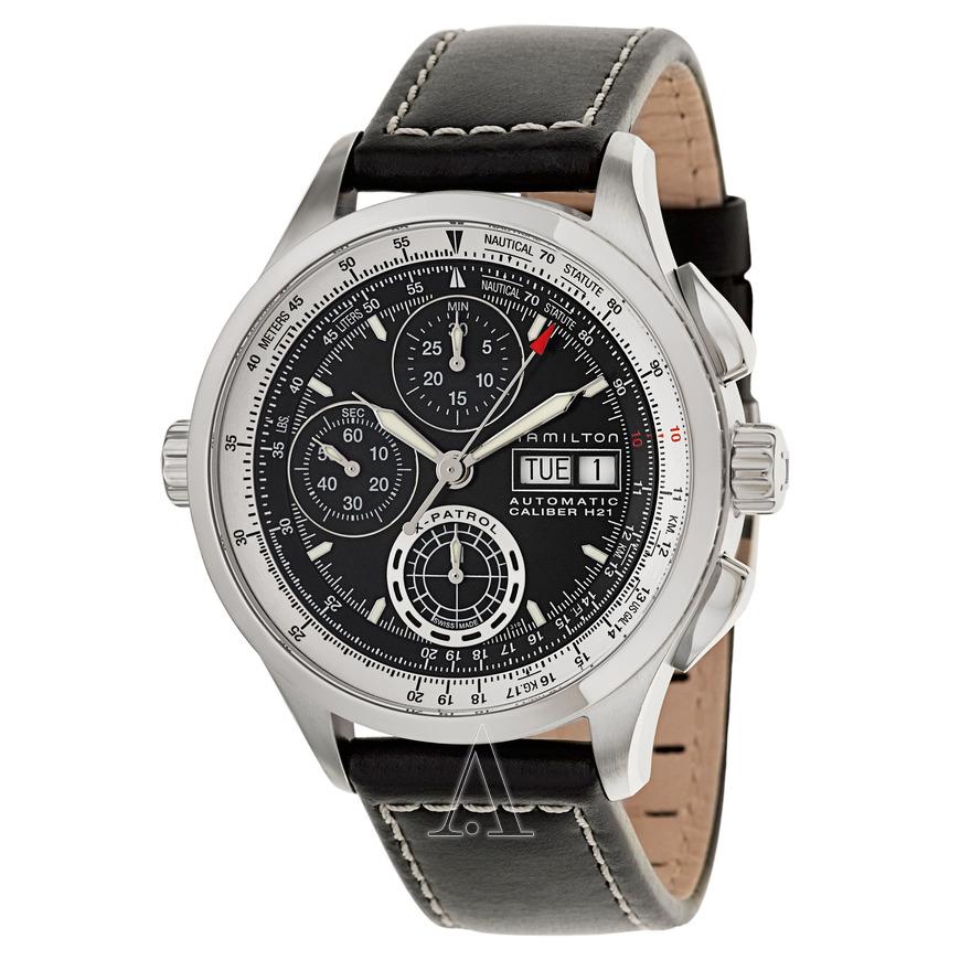 Hamilton Men's Khaki Aviation X-Patrol Automatic Chronograph Watch $665 + free shipping