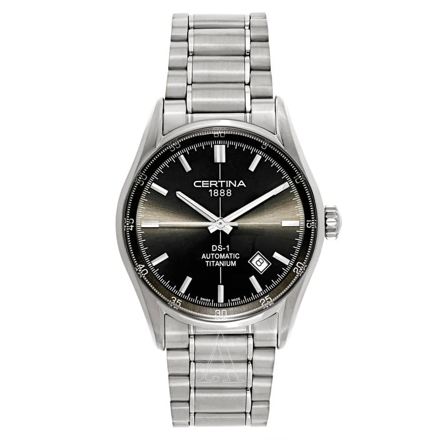 Certina Men's DS 1 Automatic Titanium Watch $325 + free shipping