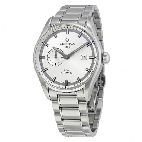 Certina DS-1 Stainless Steel Automatic Watch on Bracelet $349 + free shipping