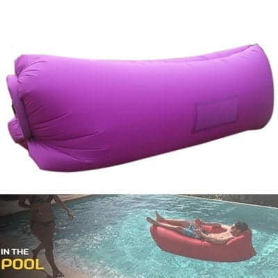 Waterproof Inflatable Sofa $9 + free shipping