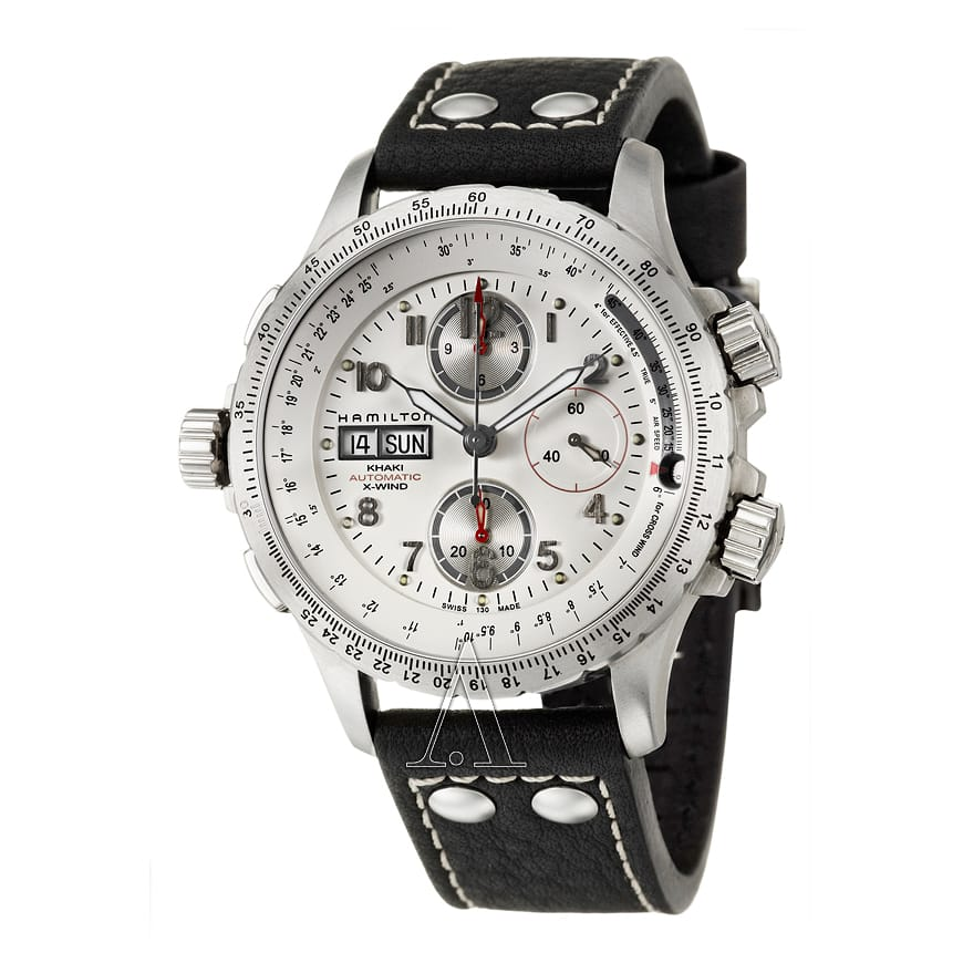 Hamilton Men's Khaki Aviation X-Wind  Automatic Chronograph Watch $669 + free shipping