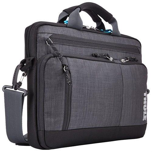 "Thule Stravan Attache Messenger Bag for 13"" Laptops (Grey) $21.59 + free shipping"