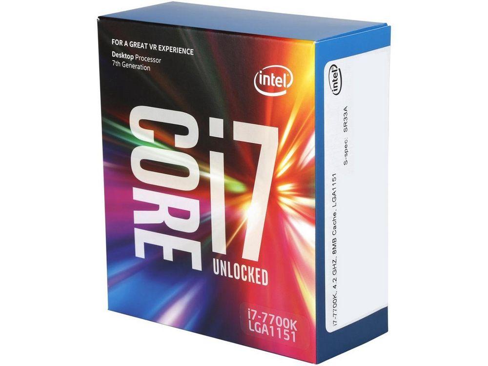 Intel Core i7-7700K Kaby Lake Quad-Core CPU 290 + free shipping $290
