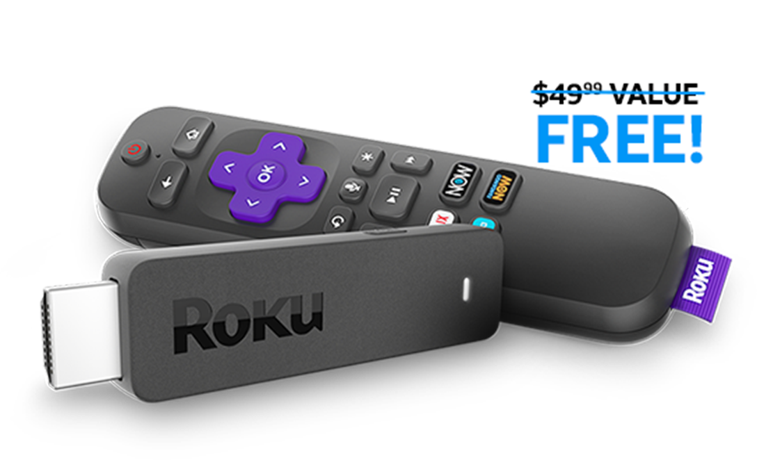 (new subscribers) Free roku Stick w/ 2 Month Direct TV NOW prepay sub (starting at $35)