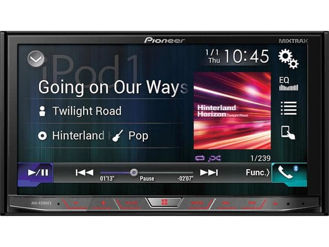 "Pioneer AVH-4200NEX 7"" Motorized Touchscreen DVD Receiver + $60 Newegg Gift Card $347 after $150 Rebate + Free S&H"