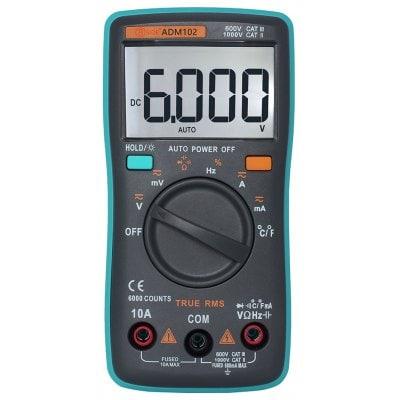 ZT102 Digital Multimeter (true rms) $7 + free shipping