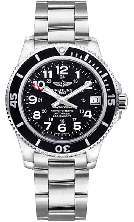 Breitling Superocean II 36mm Automatic COSC Chrinometer Watch $1800 + free shipping