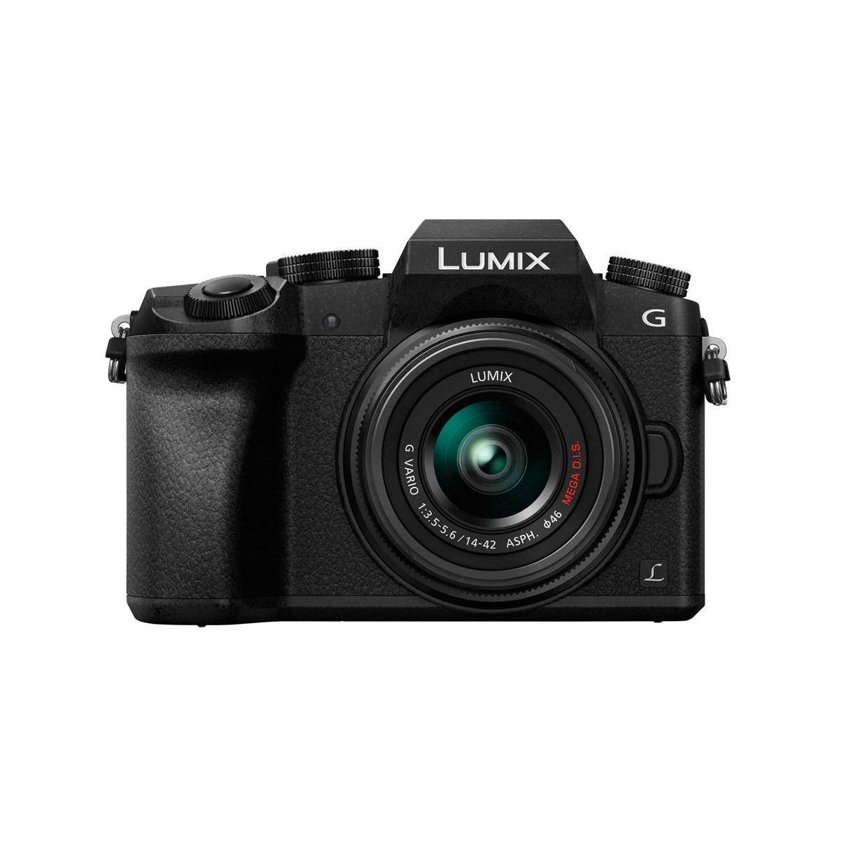 Panasonic DMC-G7 Mirrorless Camera + 14-42mm Lens $498 & More + free shipping