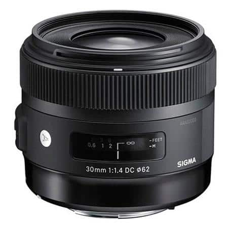 Sigma Canon Lenses: 30mm f/1.4 DC HSM ART Lens $449, 18-35mm F/1.8 DC HSM ART Lens $699, 50-100mm f/1.8 DC HSM Art Lens $999 & More + FREE S&H