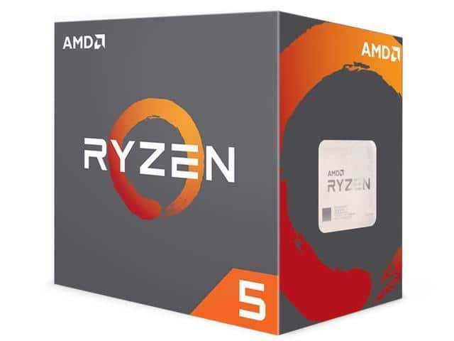 AMD RYZEN 5 1600X 6-Core 3.6 GHz CPU $190 (less with mobile appl) + free s/h