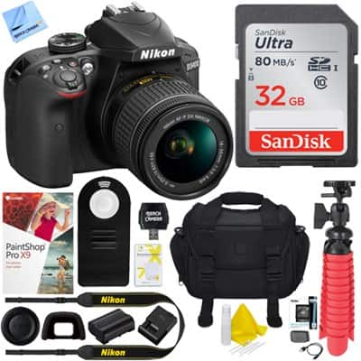 *new* Nikon D3400  DSLR Camera w/ AF-P DX 18-55mm VR Lens $397 & Nikon D7200 Body $797 & More + free s/h