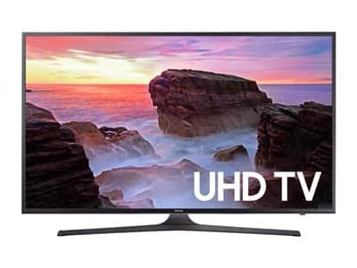 "55"" Samsung UN55MU6300 4K TV + $100 Dell E-gift Card $499 after $100 slickdeals rebate $500"