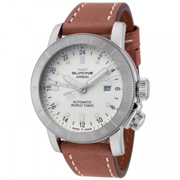 Glycine Airman Automatic GMT Watch $599 + free shipping