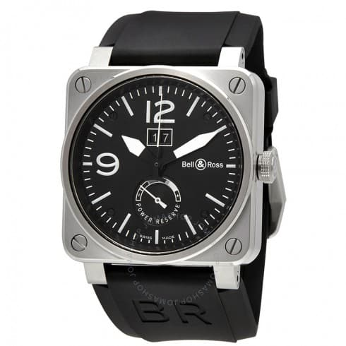 Bell & Ross Grande Date and Reserve De Marche Automatic Men's Watch $2295 + free s/h