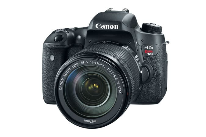 Canon T6s +18-135mm f/3.5-5.6 IS STM Lens (refurb) $548 + free s/h
