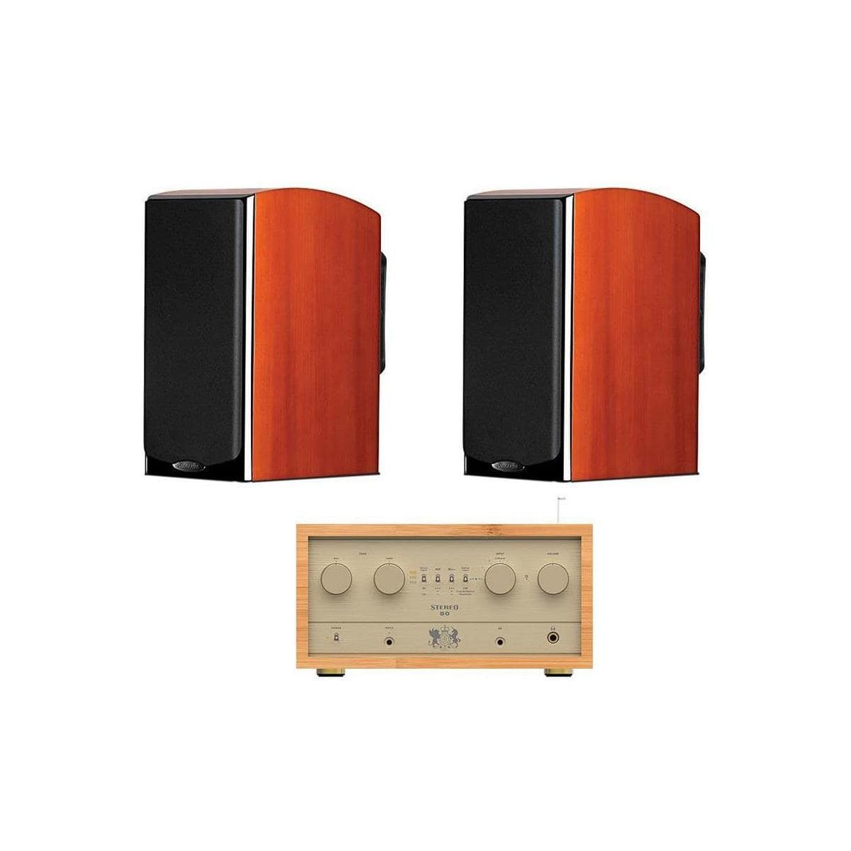 Polk LSi M703 Bookshelf Speakers (pair) + iFi Retro S50 Tube Amplifier & Dac $1495 + free shipping