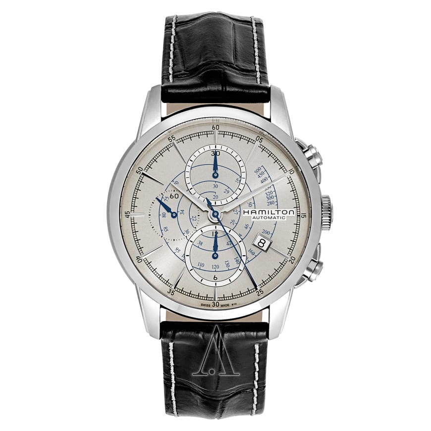 Hamilton Men's American Classic Railroad Automatic Chronograph Watch $799 + free shipping
