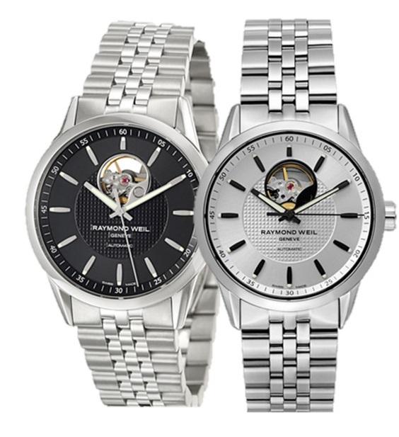 Raymond Weil Men's Freelancer Automatic Watch w/ Open Balance Wheel $659 + free shipping
