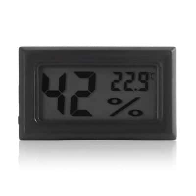 LCD Indoor Thermometer / Hygrometer $0.99 + free shipping
