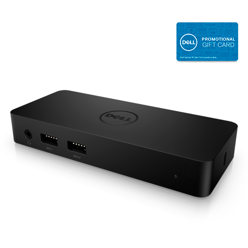 Dell D1000 Dual Video USB 3.0 Docking Station + $25 dell e-giftcard $80 +  Free Shipping