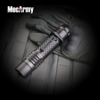 MecArmy Rechargeable 18650 LED Flashlights: SPX10 $53 or SPX18 $57 + free shipping
