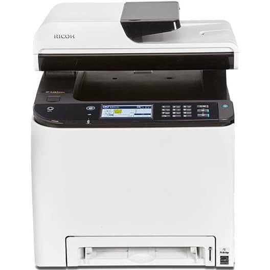 Ricoh SP C261SFNw Wireless Color Laser All-in-One Printer $179 + free s/h