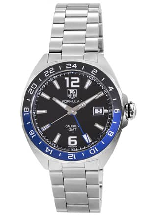Tag Heuer Formula 1 Calibre 7  Automatic  GMT Watch $1250 + free s/h