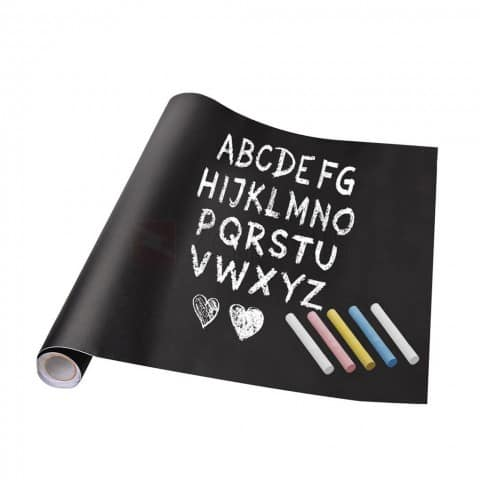 "17.7"" x 78.7"" Removable Chalkboard $5 + free s/h"