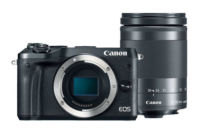 (refurb) Canon M6 & EF-M 18-150mm IS STM Lens $500 or Canon M10 & 15-45mm IS STM Lens $250 + free s/h