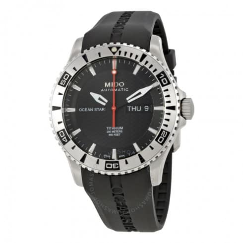 Mido Ocean Star Automatic Titanium Watch $449 + free s/h