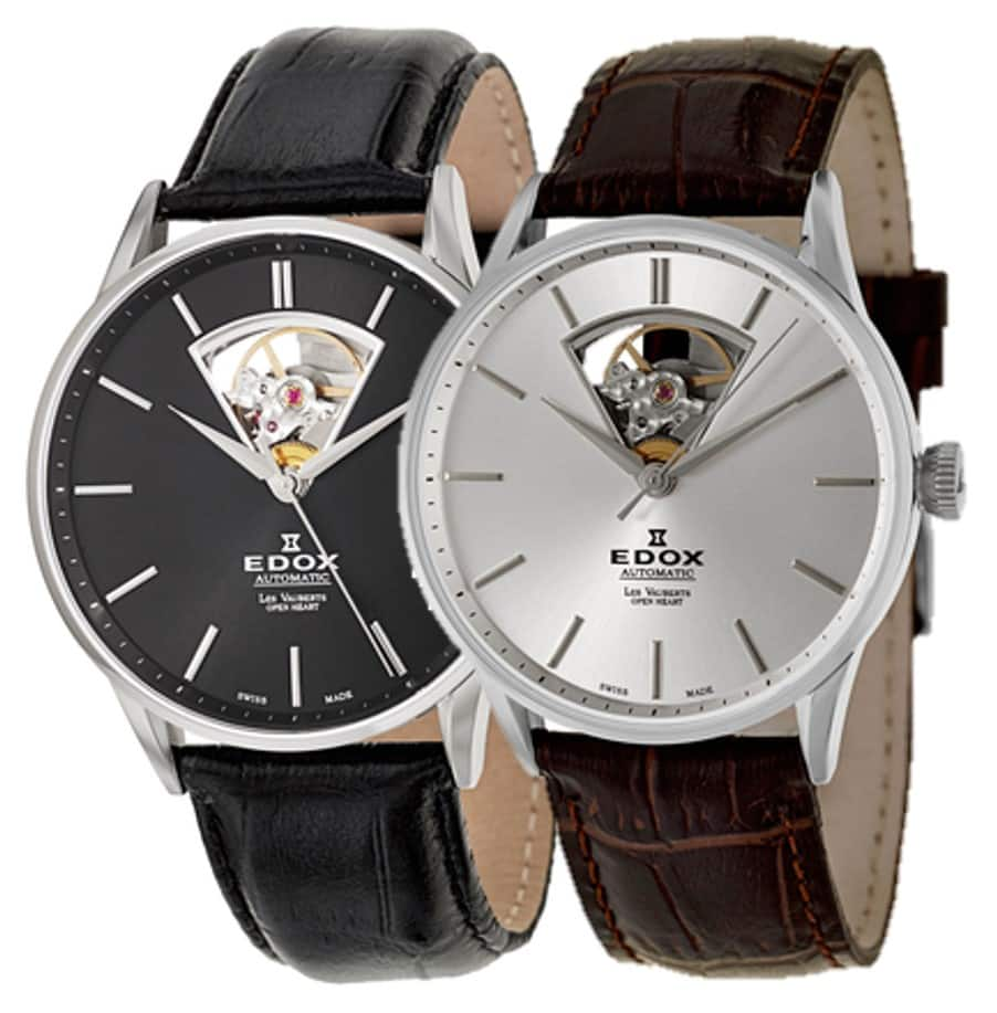 Edox Men's Les Vauberts Automatic Watch $319 + Free shipping