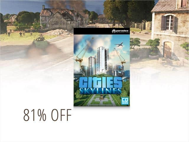 PCDD Games: Cities: Skylines: Deluxe Edition $8, Cities: Skylines $5.80