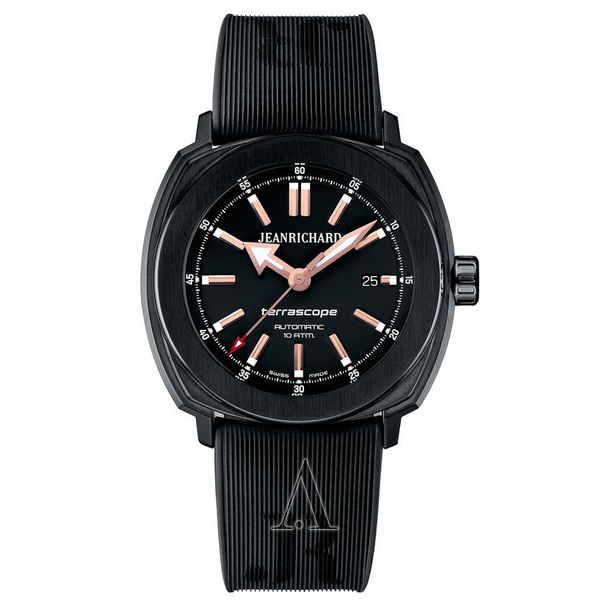 JeanRichard Men's Terrascope Automatic Watch $699 + free shipping