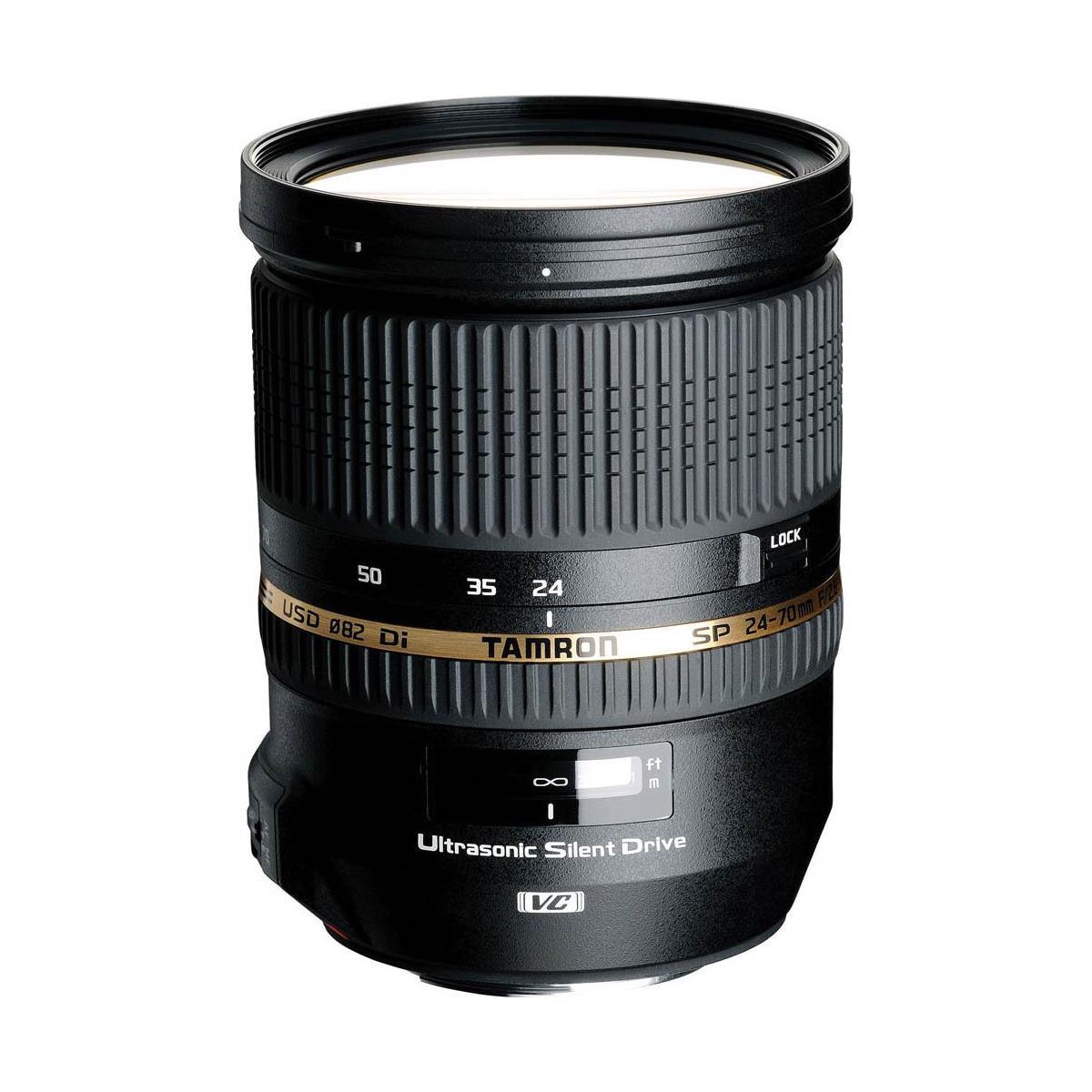 Tamron SP 24-70mm f/2.8 Di VC USD Lens (canon or nikon) $899 + free s/h