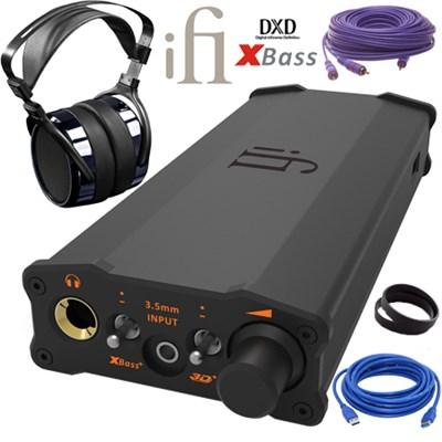 iFi Audio iDSD Headphone Amp + HIFIMAN HF-400i SE Chrome Headphones $499 + free s/h