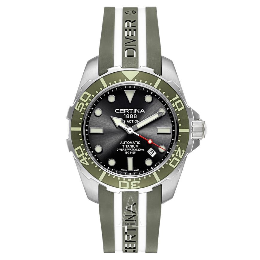 Certina Men's DS Action Automatic Titanium Watch $359 + free s/h